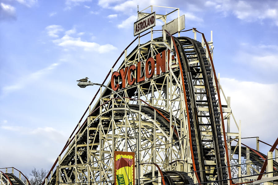 Astroland Cyclone  6422 Photograph