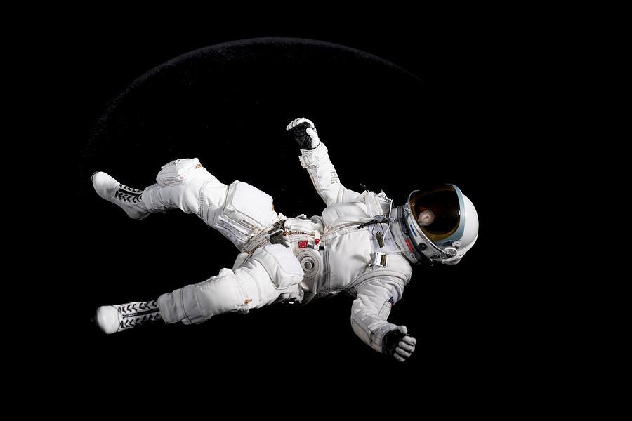 Astronaut Floating Photograph by Rick Partington / EyeEm