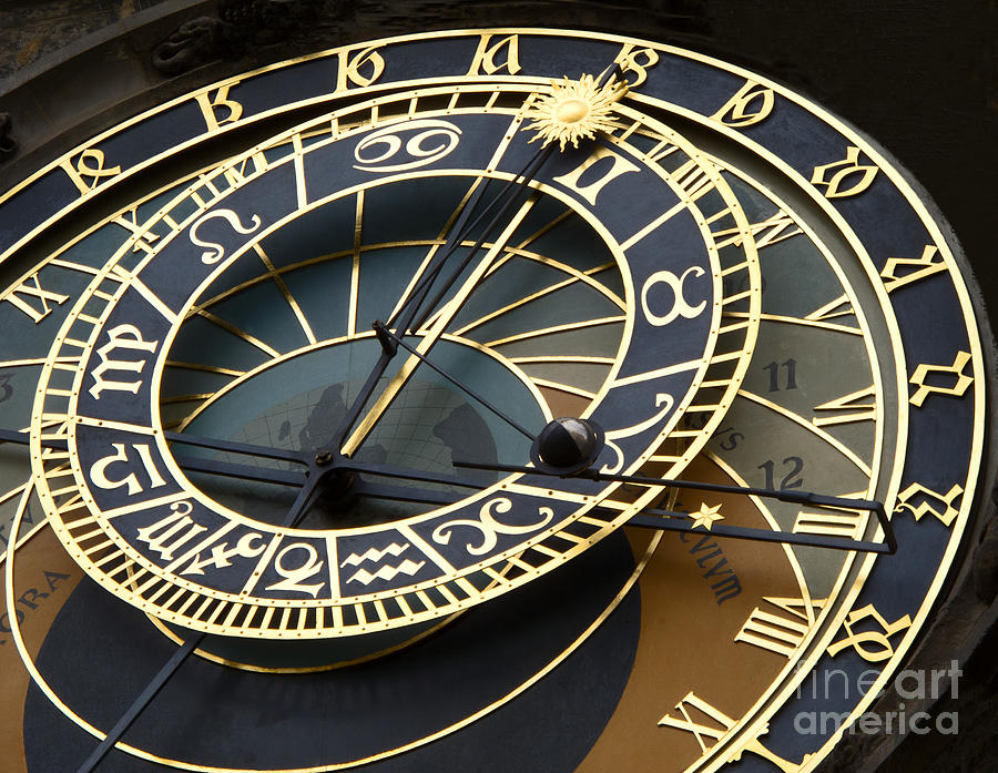 Astronomical Clock Photograph By Ann Horn