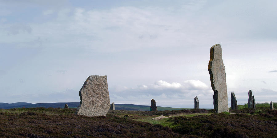 Stones Photograph - At Brodgar by Steve Watson