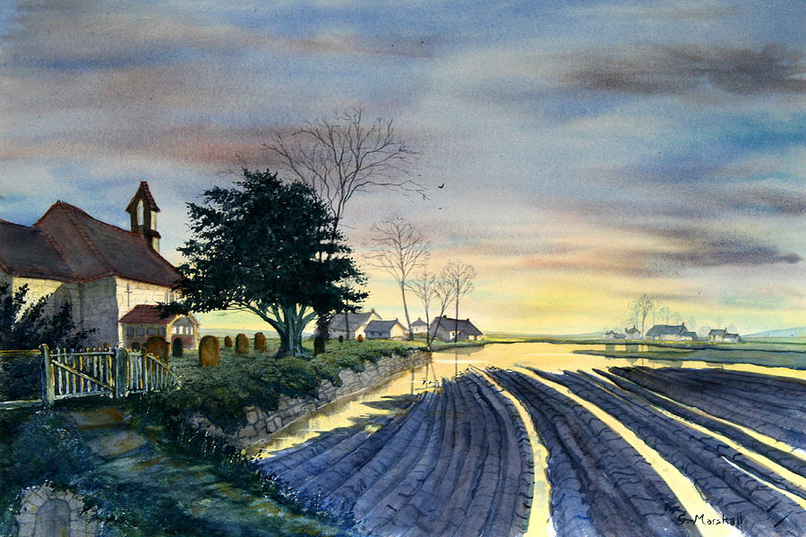 Landscape Painting - At Eventide by Glenn Marshall