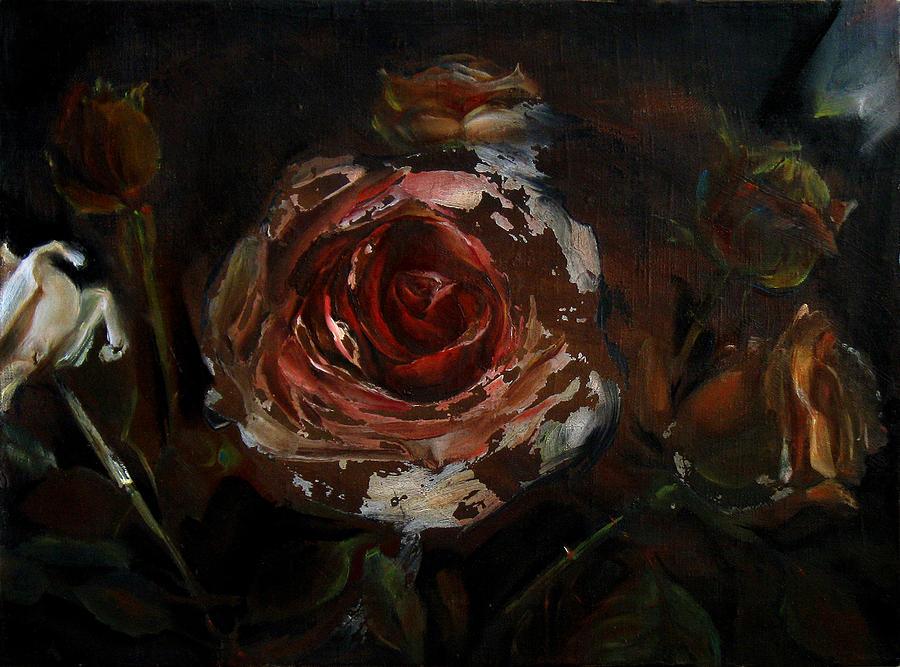 Dark Painting - At Night by Tanya Byrd
