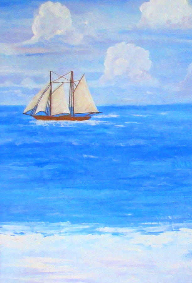 At Sea by Ashley Goforth