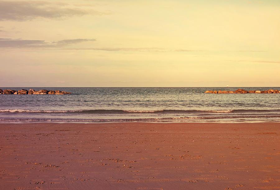 Italy Photograph - At The Beach by Andrea Mazzocchetti