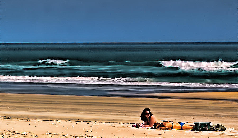 Beach Photograph - At The Beach by Dave Bosse
