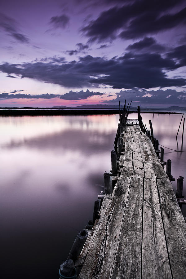 Pier Photograph - At The End by Jorge Maia