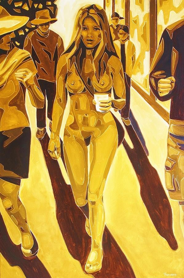Pop Art Culture Painting - At The End Of A Storm Theres A Golden Sky by Varvara Stylidou