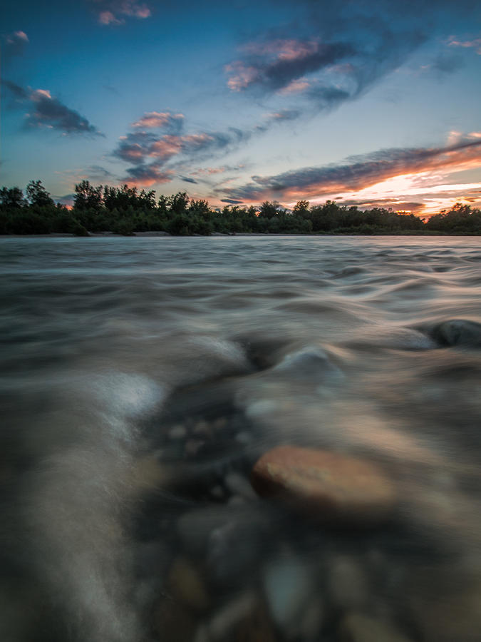 Landscapes Photograph - At The End Of The Day by Davorin Mance