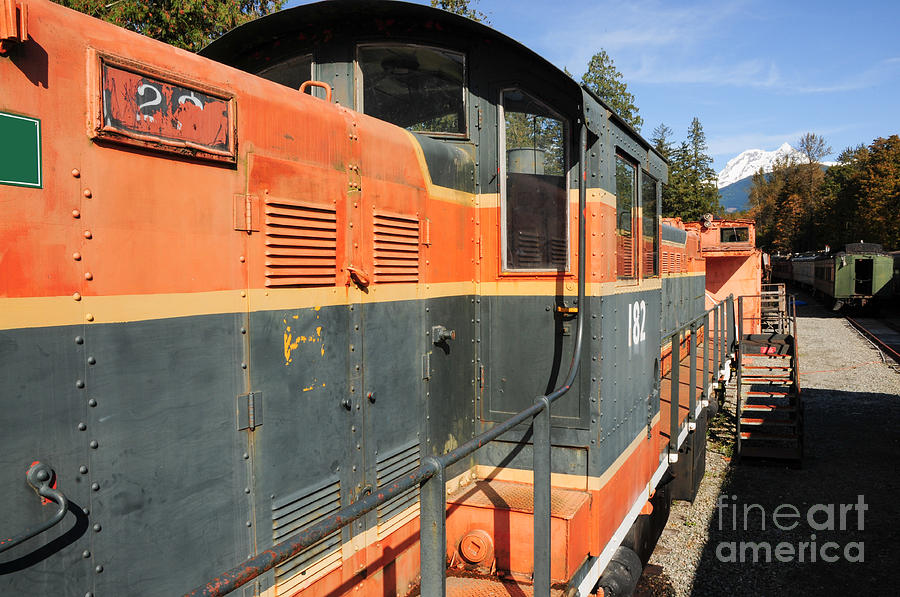 British Columbia Photograph - At The End Of The Railroad by Malu Couttolenc