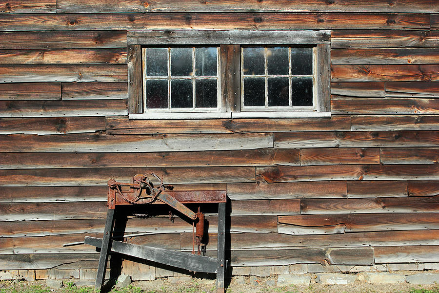 Old Building Photograph - At The Farmers Market 2 by Mary Bedy