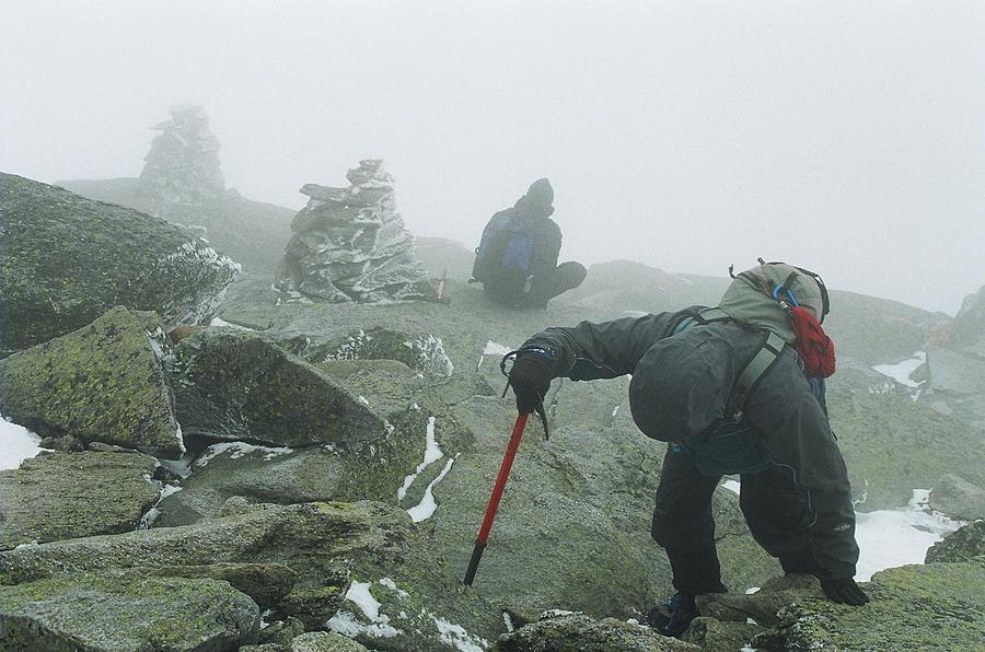 Mt Washington Photograph - At The Pinnacle Of Choice by Jim Cook