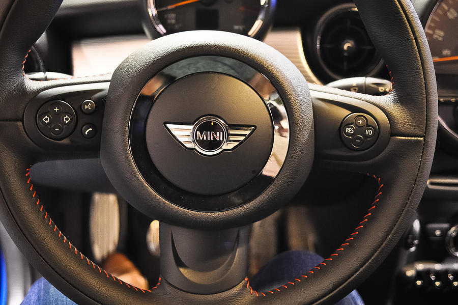Car Photograph - At The Wheel Of The Mini by Ronda Broatch