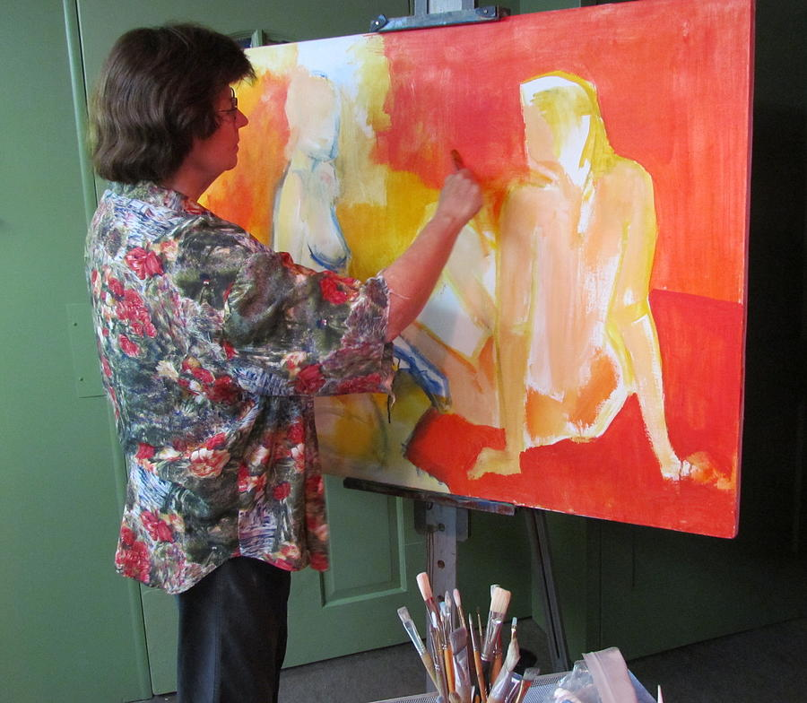 At Work on The Innocents by Betty Pieper