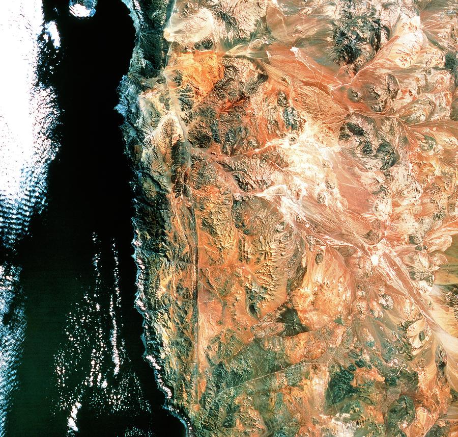 Atacama Desert Photograph - Atacama Desert by Mda Information Systems/science Photo Library