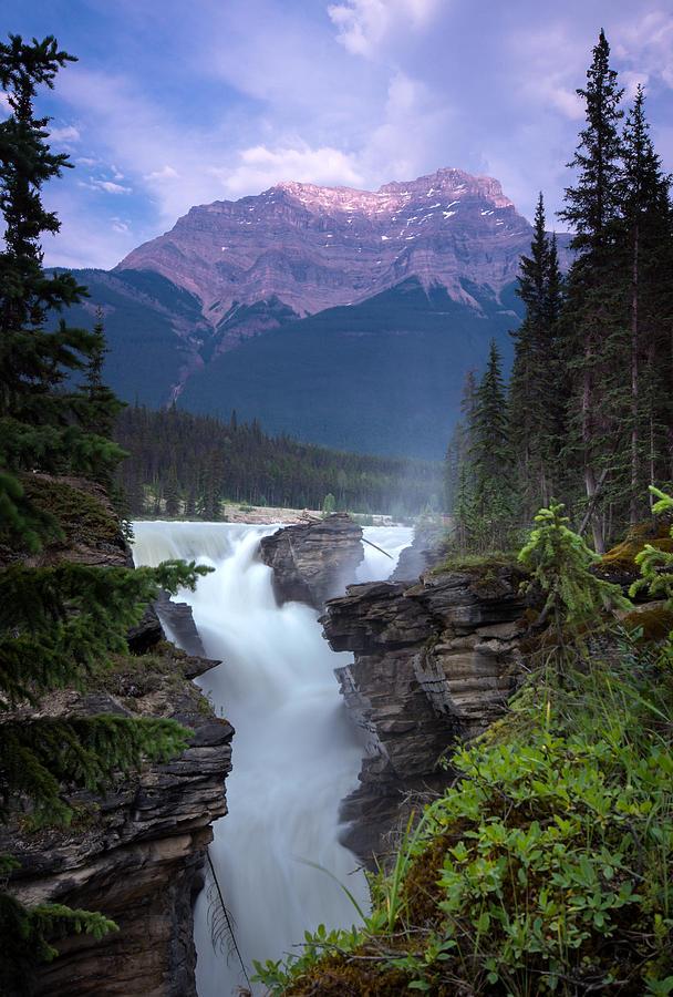 Athabasca Falls Photograph