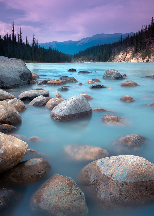 Jasper Photograph - Athabasca Rocks by Cale Best