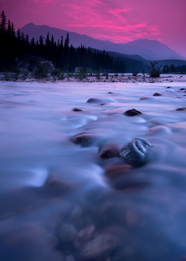Athabasca Sunset Photograph
