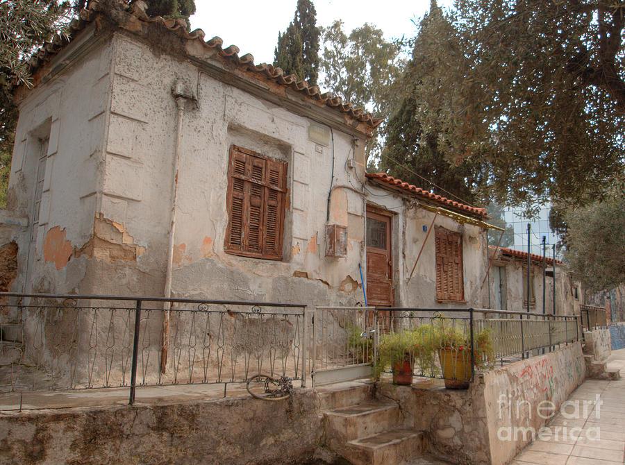 Greece Photograph - Athens Street Ruin by Deborah Smolinske