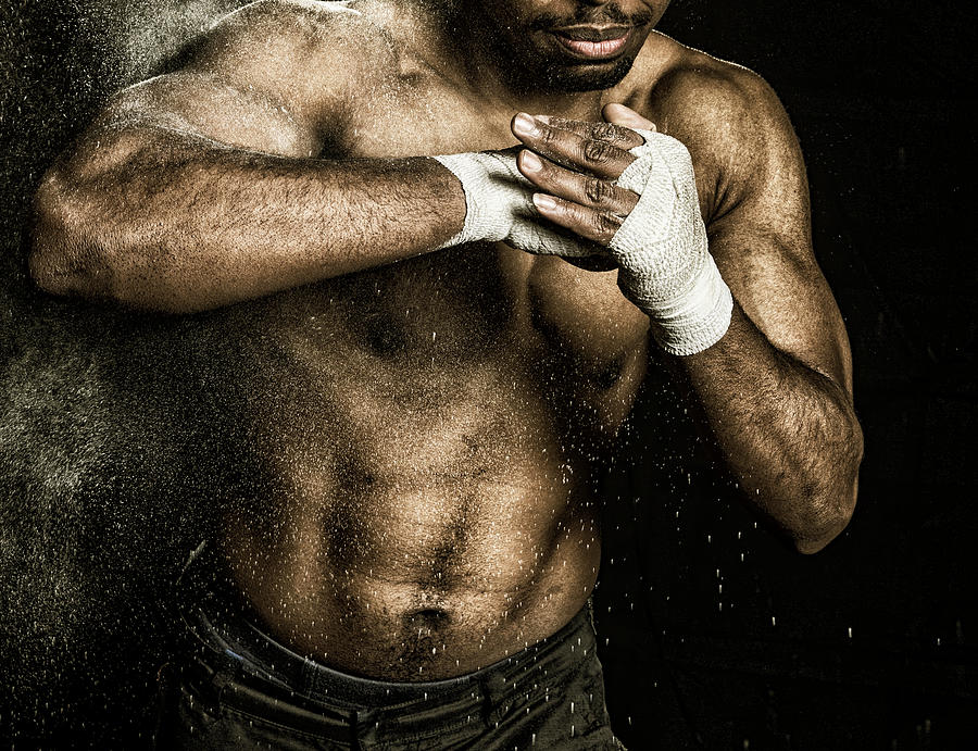 Action Photograph - Athlete Power by Pedro Correa