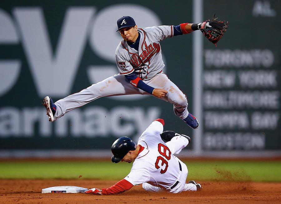 Atlanta Braves V Boston Red Sox Photograph by Jared Wickerham
