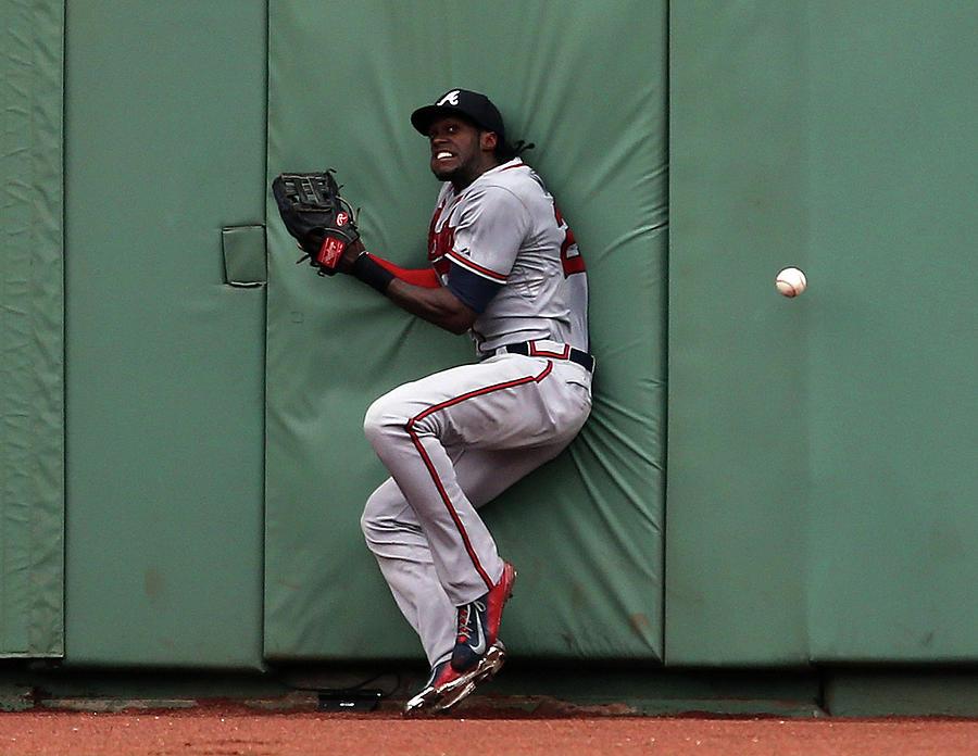 Atlanta Braves V Boston Red Sox Photograph by Jim Rogash