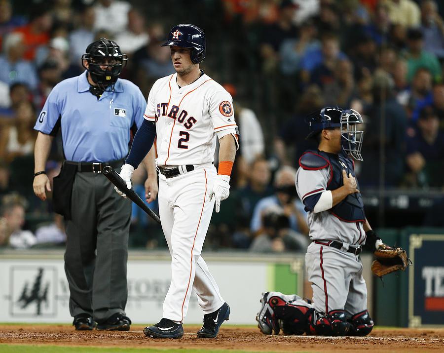 Atlanta Braves V Houston Astros Photograph by Bob Levey