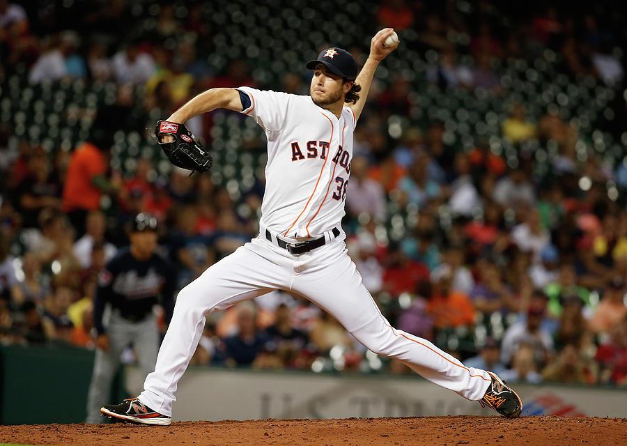 Atlanta Braves V Houston Astros Photograph by Scott Halleran