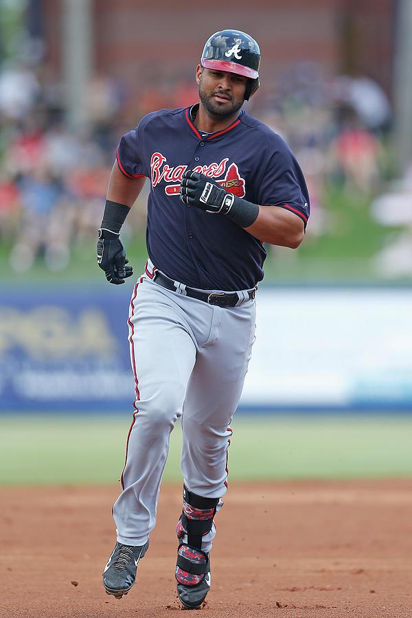 Atlanta Braves V New York Mets Photograph by Joel Auerbach
