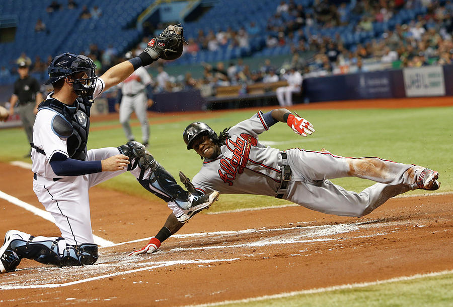 Atlanta Braves V Tampa Bay Rays Photograph by Brian Blanco