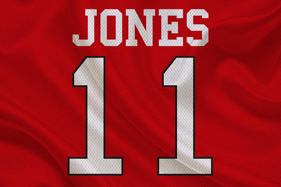 Falcons Photograph - Atlanta Falcons Julio Jones by Joe Hamilton