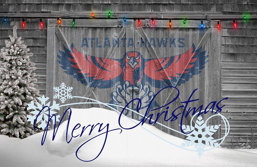Hawks Photograph - Atlanta Hawks by Joe Hamilton