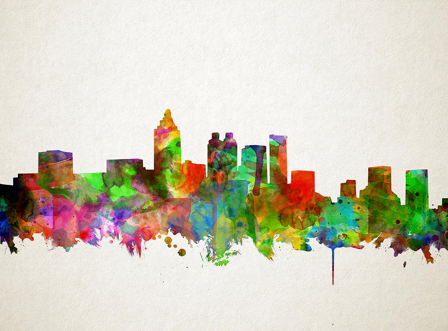 new york skyline graffiti wallpaper