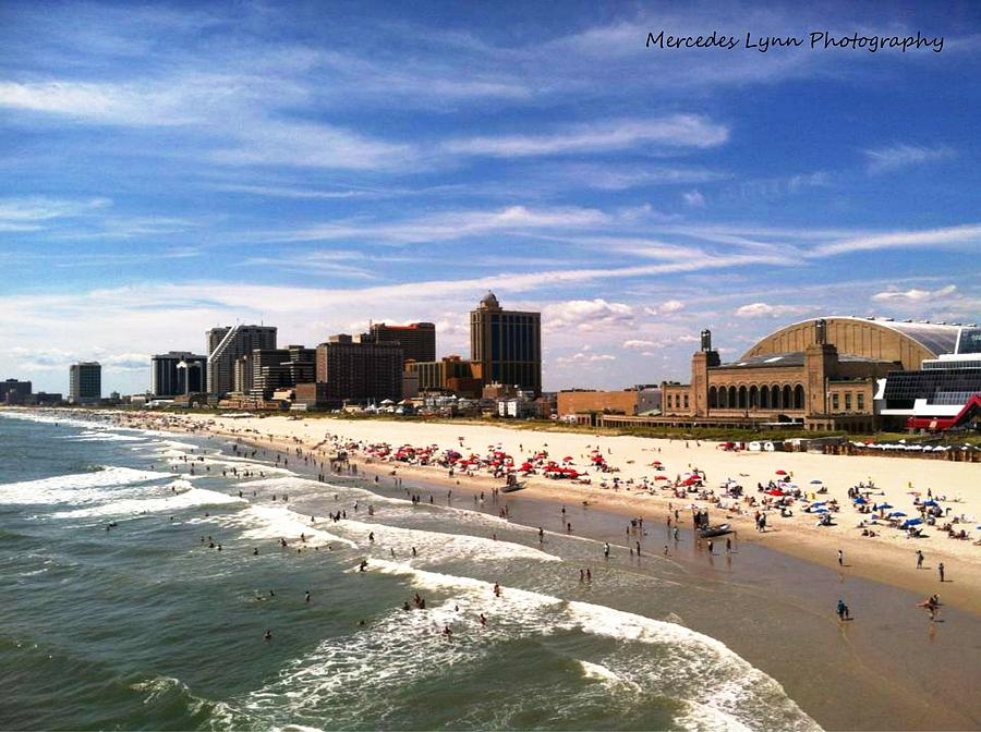 Atlantic City Photograph by Mercedes Warner