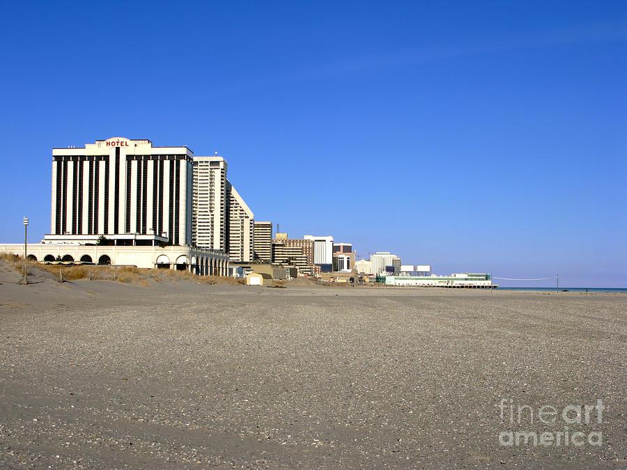 Atlantic City Photograph - Atlantic City New Jersey by Olivier Le Queinec