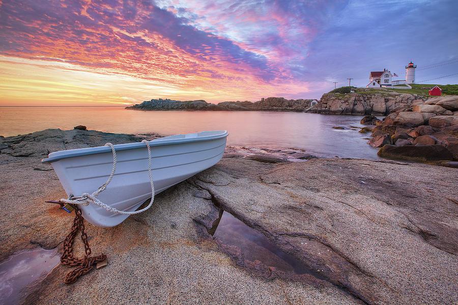Atlantic Dawn Photograph - Atlantic Dawn by Eric Gendron