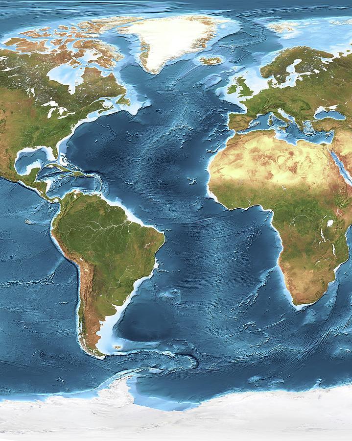 Atlantic Ocean Sea Floor Topography on caspian sea topography map, ocean floor map, bathymetry map, timor sea australia on map, ocean topography map,