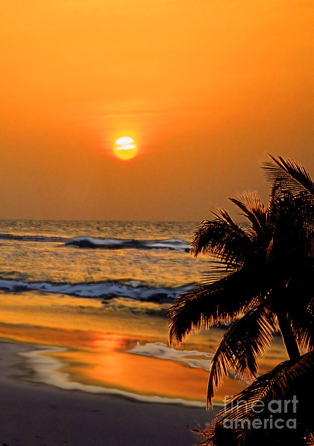 Beach Photograph - Atlantic Sun Rising by Kathy Baccari