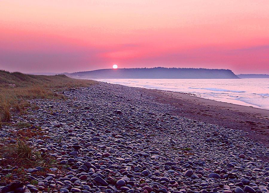 Atlantic Ocean Photograph - Atlantic Sunrise by George Cousins