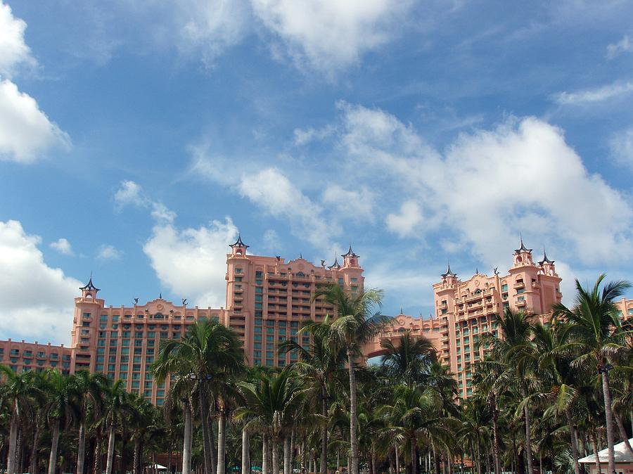 Atlantis Photograph - Atlantis Resort At Paradise Island by Teresa Schomig