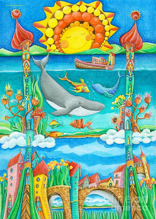Atlantis Painting - Atlantis by Sonja Mengkowski