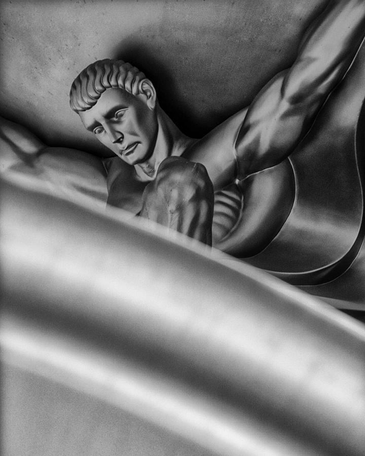 Sculpture Photograph - Atlas by Gary Warnimont