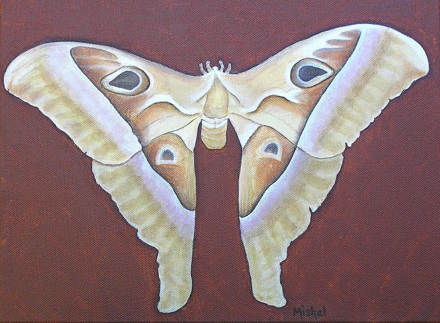 Mystic Painting - Atlas Moth by Mishel Vanderten