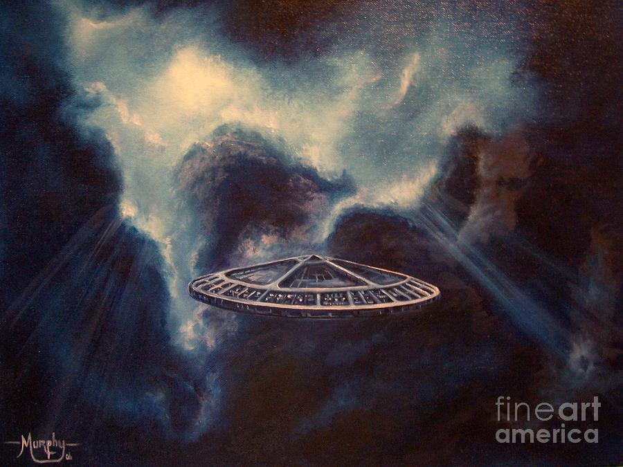 Atmospheric Painting - Atmospheric Arrival by Murphy Elliott