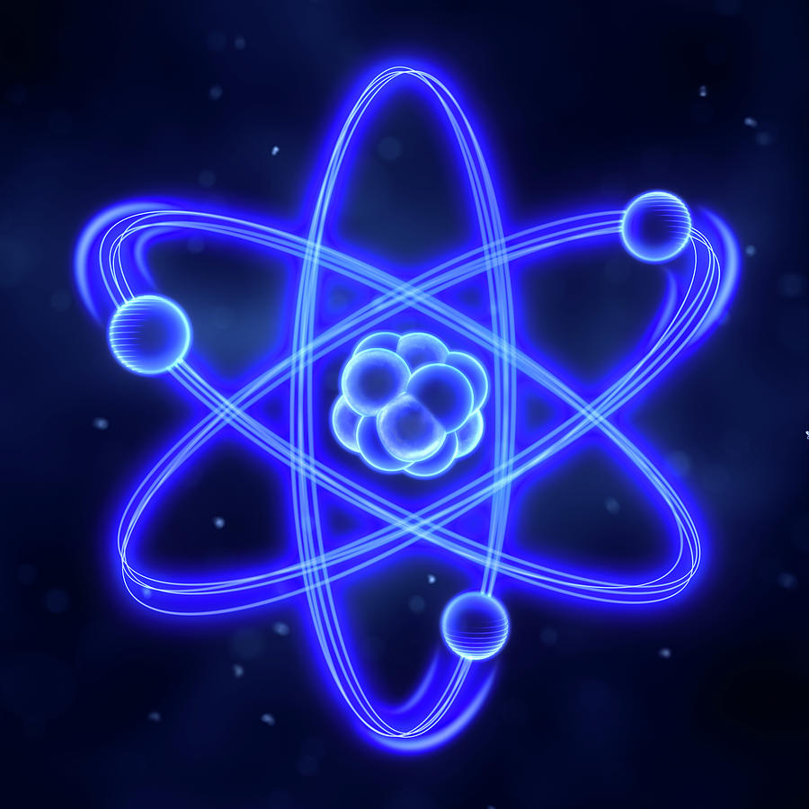Atom Photograph by Enot-poloskun
