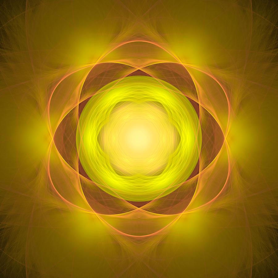 Atom Digital Art - Atome-35 by RochVanh