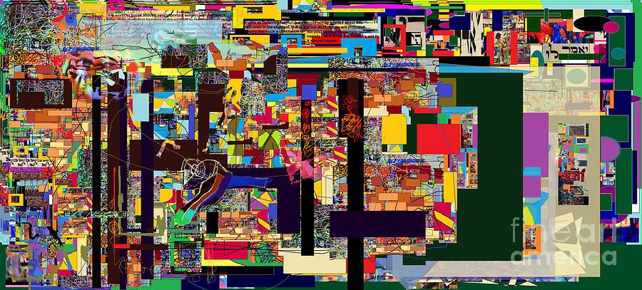 Torah Digital Art - Bold As A Leopard 7 by David Baruch Wolk