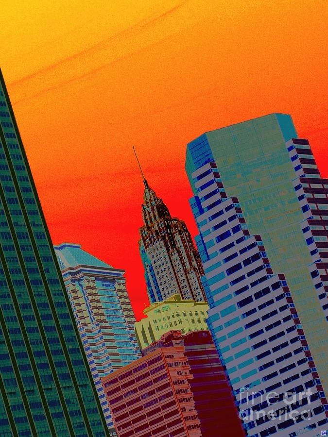 Nyc Photograph - Atomic Skyline by Andy Heavens