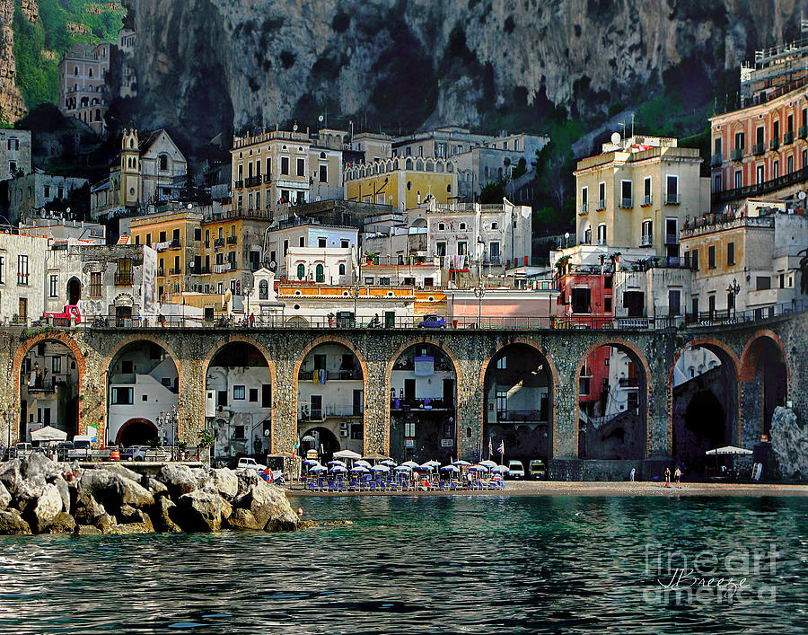 Atrani Photograph - Atrani. Amalfi Coast by Jennie Breeze