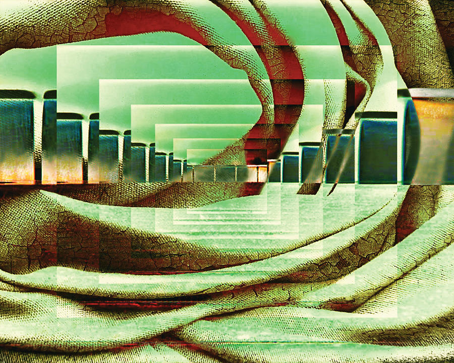 Atrium Digital Art by Paula Ayers