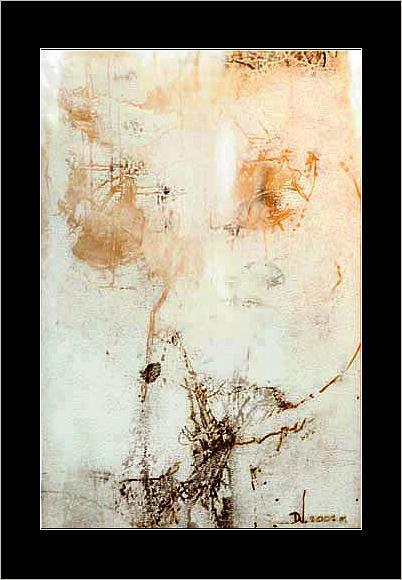 Artist Painting - Atrophy by Dabrowski Waldemar